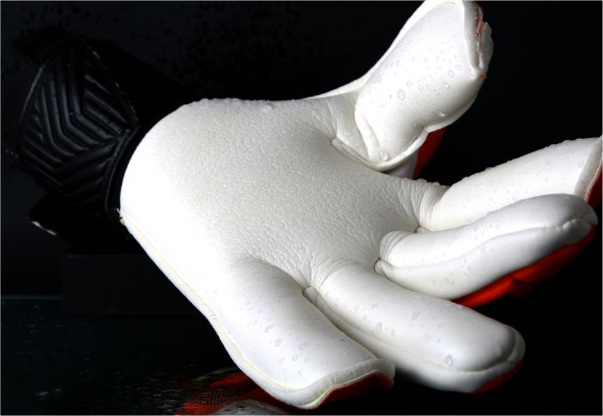 goalkeeper gloves with wet grip